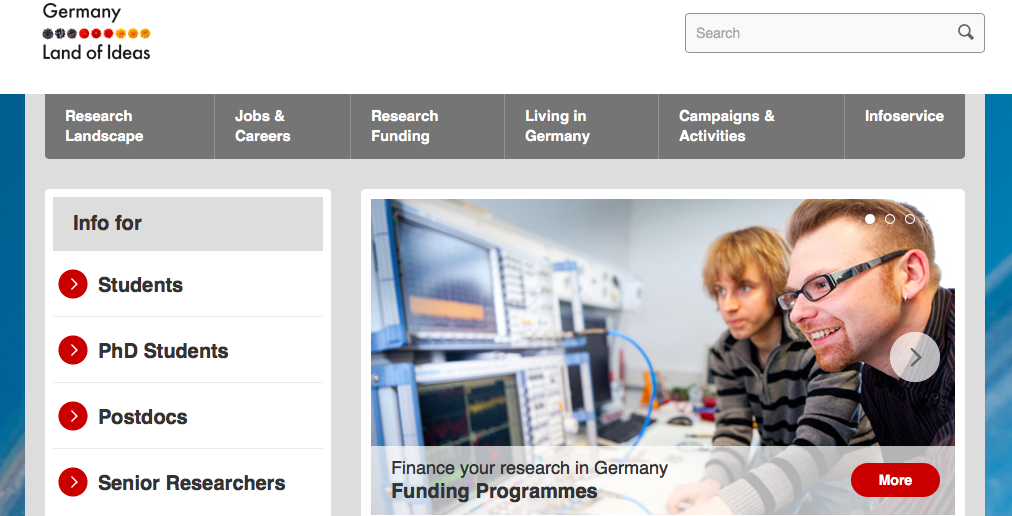 PhD research in Germany